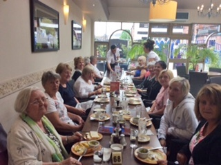 WOW - Women of Westhoughton enjoy a meal together