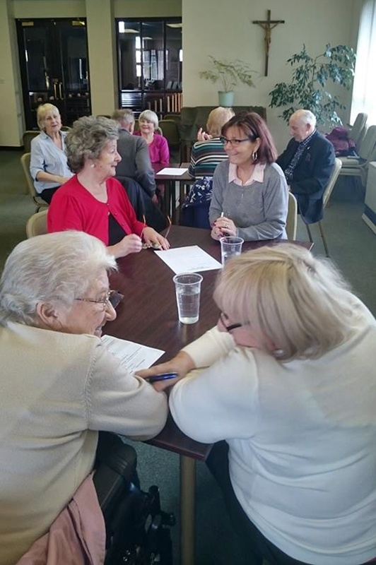 Senior Solution's Tuesday Social Club at Sacred heart