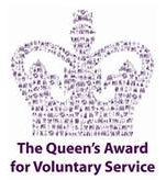 Queens Award for Voluntary Service awarded to Senior Solutions in 2019.