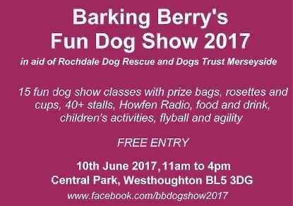 Barking Berry's Fun Dog Show 2017