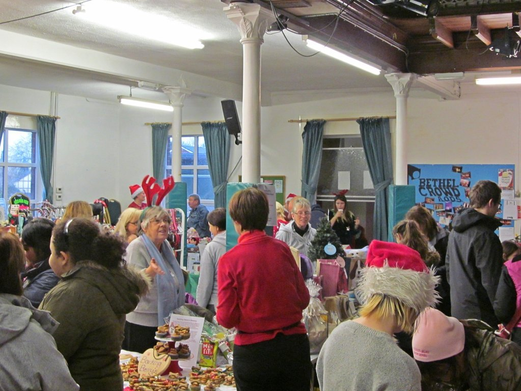 Stalls at the 2015 Barking Berry's Fun Dog Show Christmas Fair at The Bethel