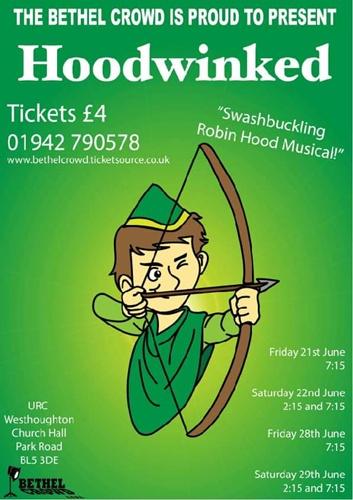 Bethel Crowd Junior Workshop presents 'Hoodwinked' (June 2018).