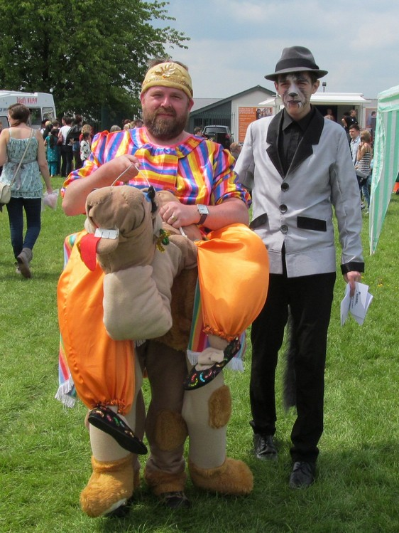Westhoughton Community Network Fayre 1st June 2014 - Bethel Crowd in costume