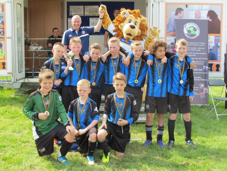 Westhoughton Big Fun Day 1st June 2014 - Football competition winners