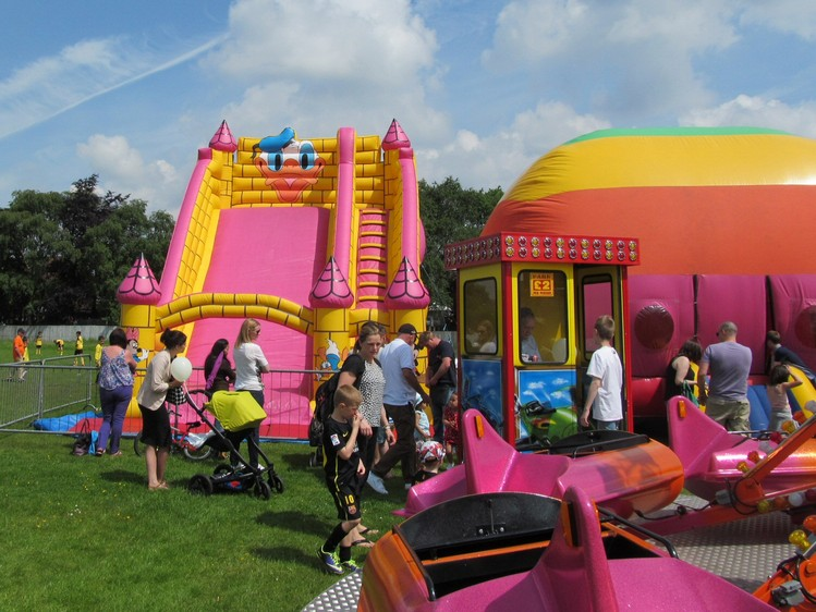 Westhoughton Big Fun Day1st June 2014 - fair attractions for all ages