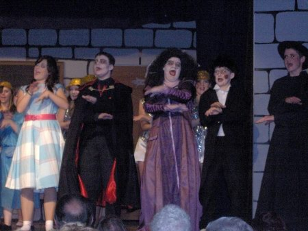 Westhoughton's Bethel Crowd putting on a show - The Dracula Spectacular