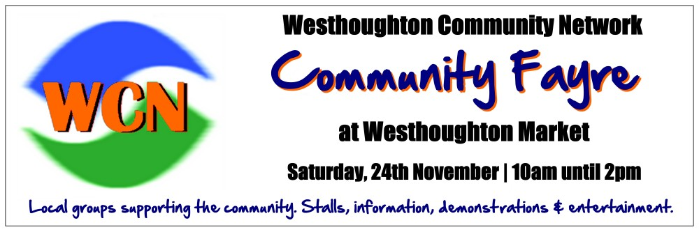 Westhoughton Community Network Fayre 24th November 2012