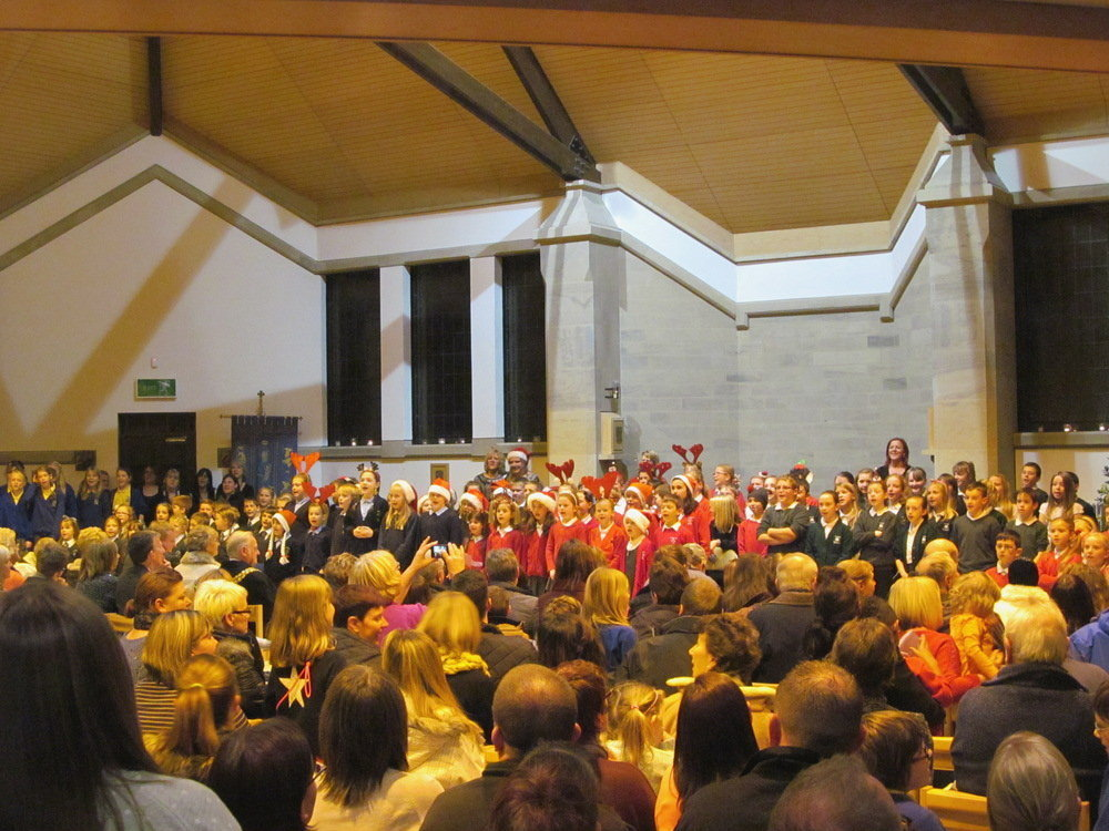 St. Bartholomew's Christmas Carol Service as Westhoughton switches on the Christmas Lights.