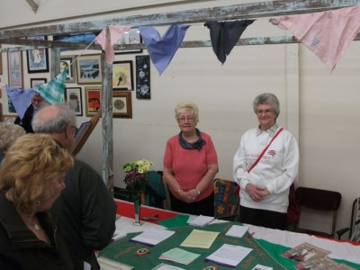 Westhoughton Townswomen Guild at Westhoughton Community Network Fayre April 2012