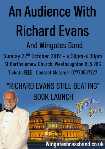 'An Audience With Richard Evans' ft Wingates Brass Band - St. Bart's 27th October 2019