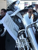 Wingates Band performing at the Pretoria Remembrance in 2010