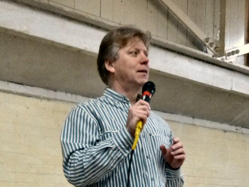 Chris Buckley performs at Westhoughton Community Network Fayre 24 Nov 2012