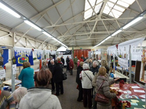 Visitors attending Westhoughton Community Network Fayre 24 Nov 2012