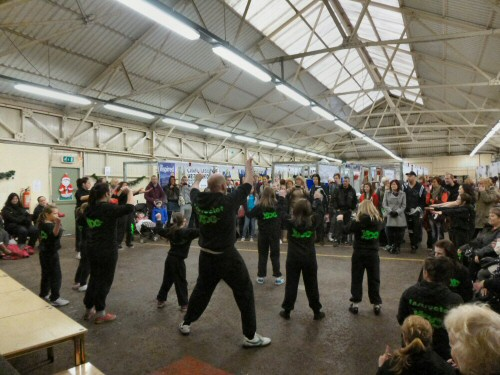 Westhoughton Community Network Fayre 24 Nov 2012 - Urban dance troupe XDC perform