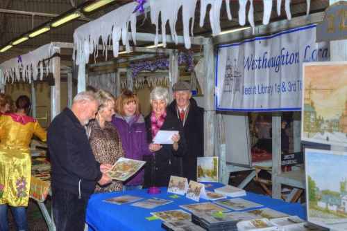Westhoughton Local History Group at the Westhoughton Community Network Fayre - Saturday, 24th November 2012