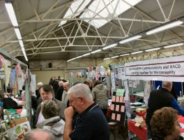 Westhoughton Community Network Fayre 21st April 2012 stalls