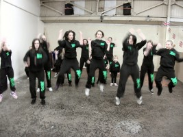 Westhoughton Community Network Fayre 21st April 2012 - XDC perform