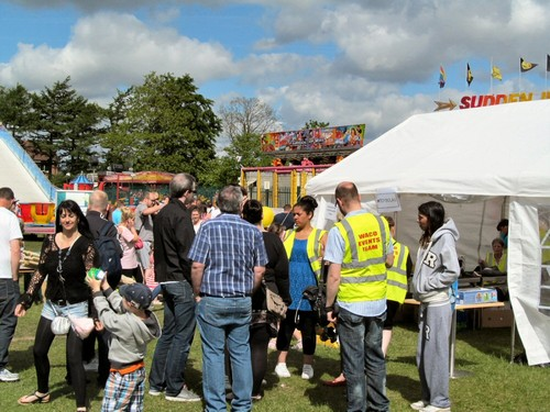 It's A Knockout 2nd June 2013 - milling about at the fair