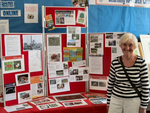 Westhoughton Community Network Fayre 2nd June 2013 - Friends of Eatock Lodge stall