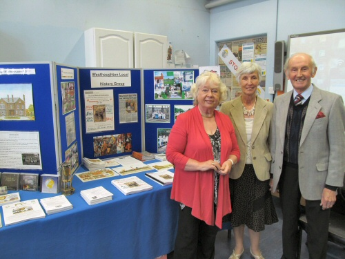 Westhoughton Community Network Fayre 2nd June 2013 - Westhoughton Local History Group stall