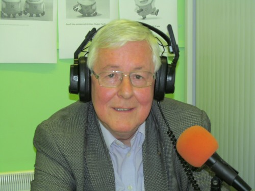Steve Harrington, Rotary Club of Westhoughton, pops in for an interview during The Community Hour