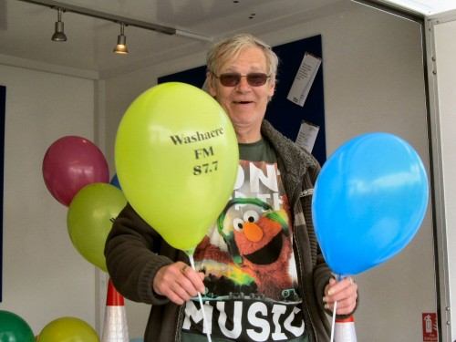 Washacre FM 2013 - Bob Hamer on the Roadshow