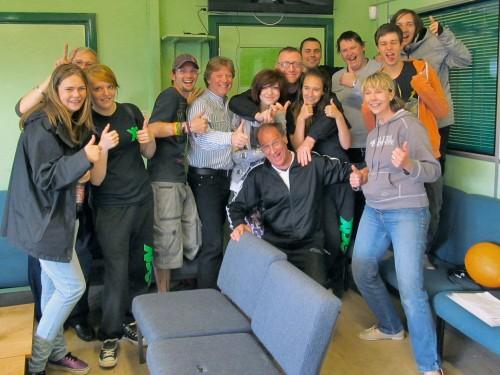 Group photo - Washacre FM 2013 presenters