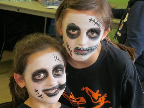 Washacre FM 2013. Faces painted, scary - Showcase Day