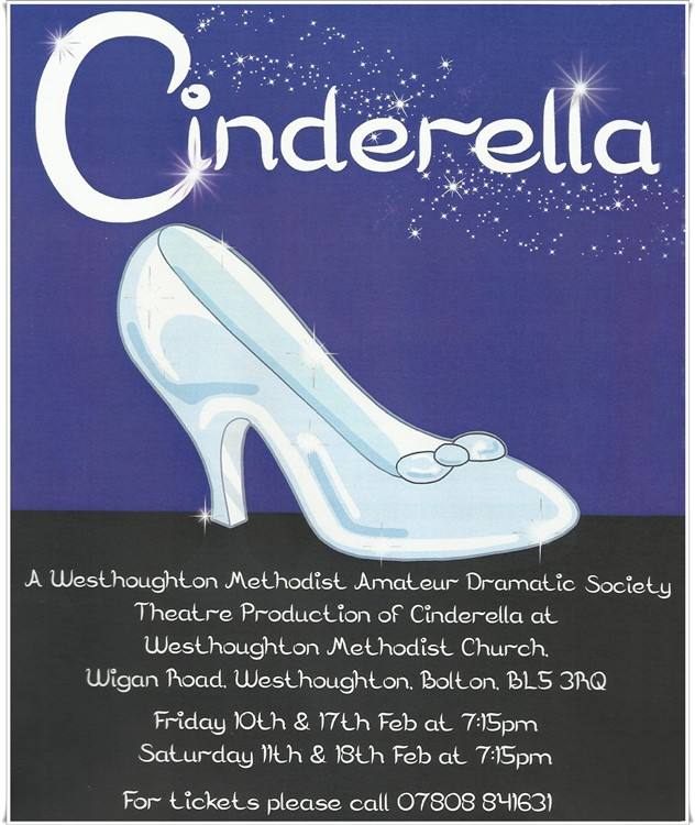 Cinderella - 2017 Pantomime from Westhoughton Methodist Amateur Dramatic Society.