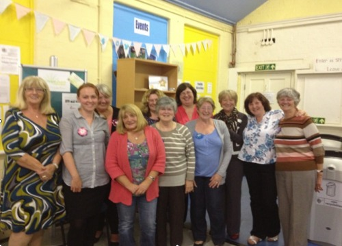 WOW - Women of Westhoughton get together for meeting